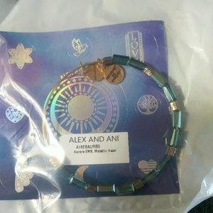 Alex and Ani Aurora Bead Bangle